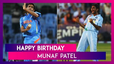 Happy Birthday Munaf Patel: Top Performances By Former Indian Pacer