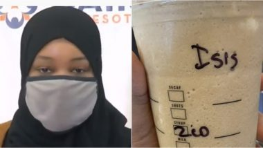Muslim Woman Complains Starbucks' Target Barista Wrote 'ISIS' on Her Cup Instead of Name in Minnesota, Files Discrimination Charges
