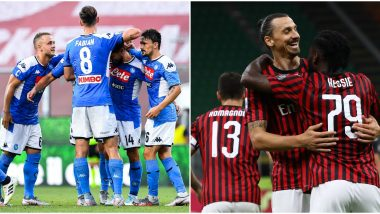 NAP vs MIL Dream11 Prediction in Serie A 2019–20: Tips to Pick Best Team for  Napoli vs AC Milan Football Match