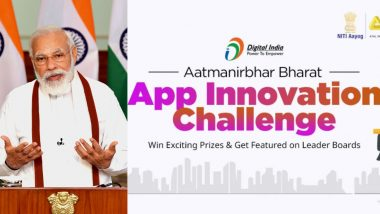PM Narendra Modi Launches Aatmanirbhar Bharat App Innovation Challenge, Urges Technology and Startup Communities to Participate
