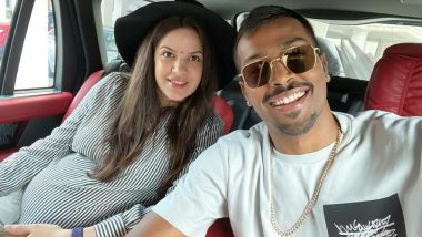 Hardik Pandya's Latest Instagram Picture with Pregnant Wife Natasa Stankovic Is Filled With Love (View Post)