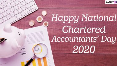 National CA Day 2020 Images, Wishes & HD Wallpapers For Free Download Online: Wish Happy Chartered Accountants' Day With WhatsApp Stickers and GIF Greetings