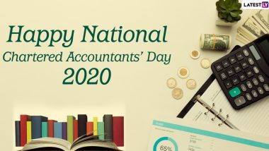 Happy National CA Day 2020 Images and HD Wallpapers For Free Download Online: Celebrate Chartered Accountants' Day With WhatsApp Stickers and Hike GIF Messages
