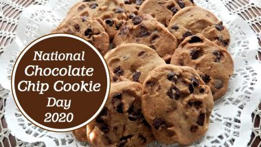 National Chocolate Chip Cookie Day 2020 (US): Here's A Simple Step by Step Recipe to Make America's Favourite Cookie (Watch Video)