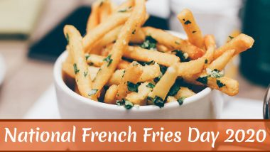 National French Fries Day 2020 in US: Crunchy Facts About These Deep Fried Potato Chips That Will Make You Want to Bite Into One RN!