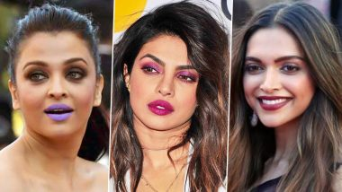 National Lipstick Day 2020: Aishwarya Rai Bachchan, Priyanka Chopra Jonas, Deepika Padukone and Others Who Popped Their Pouts With a Panache!