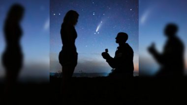Perfect Timing! New York Couple's Proposal Under the Stunning Comet NEOWISE is All Things Dreamy And Rare!