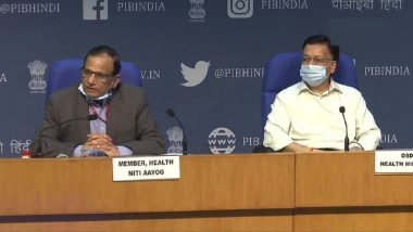 COVID-19 Second Wave in India? Possibility of 2nd Wave of Coronavirus Infections in Winter Season Cannot be Ruled Out, Says NITI Aayog Member V K Paul