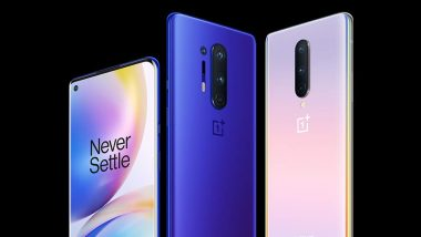 OnePlus 8 & OnePlus 8 Pro Online Sale Today at 12 Noon via Amazon.in & OnePlus.in