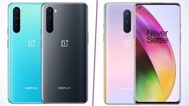 OnePlus Nord vs OnePlus 8: Prices, Features, Variants & Specifications