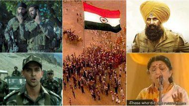Patriotic Bollywood Songs for Kargil Vijay Diwas 2020: List of Desh Bhakti Geet in Hindi to Remember the Brave Soldiers Martyred in Kargil War 1999