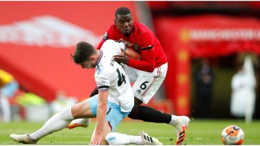 Paul Pogba Brutally Trolled by Manchester United Fans After Conceding Penalty Against West Ham in Premier League 2019–20