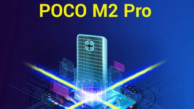 Poco M2 Pro Smartphone to Be Launched in India on July 7 via Flipkart, Check Teaser
