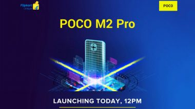 Poco M2 Pro Smartphone Launching Today in India at 12 Noon, Watch LIVE Streaming of Poco's Launch Event