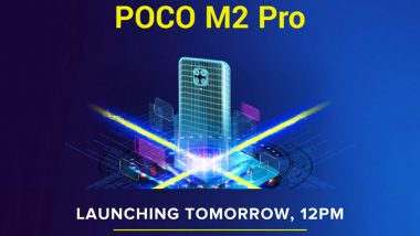 Poco M2 Pro Smartphone Launching Tomorrow in India; Check Expected Price, Features, Variants & Specifications