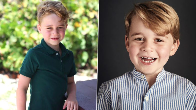 Happy Birthday Prince George of Cambridge: Cute Pictures of the Little Royal as he Turns 7!