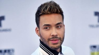 Prince Royce Reveals He's Diagnosed With COVID-19, Asks Fans to Take Coronavirus Seriously and Stay Safe in a Video Message