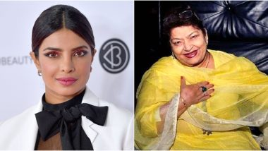 RIP Saroj Khan: Priyanka Chopra Condoles the Death Of Bollywood Choreographer, Says 'May the Heavens Dance to Your Tune Masterji' (View Post)