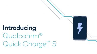 Qualcomm Introduces Quick Charge 5 Fast Charging Technology, Claims to Charge Phones Up to 50% in Five Minutes