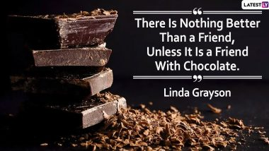 World Chocolate Day 2020 Quotes With HD Images: Witty and Funny Sayings on Chocolates to Share With Photos of The Dessert on Instagram