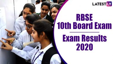RBSE 10th Result 2020 Declared: Here's Where and How to Check Class 10 Rajasthan Board Exam Results Online rajresults.nic.in