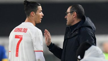 Cristiano Ronaldo Is a Champion With His Feet and Mind, Says Juventus Manager Maurizio Sarri