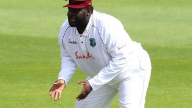 Rahkeem Cornwall Takes One-Handed Spectacular Catch to Dismiss Rory Burns During ENG vs WI 2020 3rd Test Match (Watch Video)