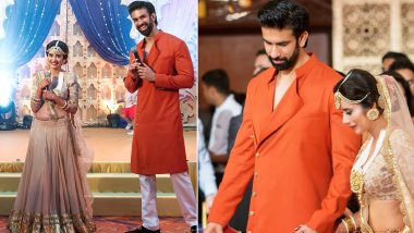 Have Rajeev Sen and Charu Asopa Buried Their Differences? Sushmita Sen's Brother Shares Photos With Wife From Their Sangeet Ceremony!