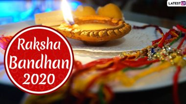 When is Raksha Bandhan 2020? Know Date, Shubh Muhurat to Tie Rakhi, Significance, Mythological Stories And Celebrations Related to the Hindu Festival of Brothers & Sisters
