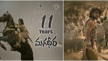 Magadheera Completes 11 Years: Ram Charan Shares a Special Post Celebrating the Film, Calls It a 'Memorable Experience'