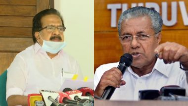 Kerala Gold Smuggling Case: Congress Leader Ramesh Chennithala Seeks CM Vijayan's Resignation