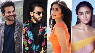 Ranveer Singh Turns 35: Anil Kapoor, Katrina Kaif, Alia Bhatt and Others Wish the Live-Wire of Bollywood a Happy Birthday (View Posts)