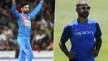 Ravindra Jadeja Pokes Fun at Shikhar Dhawan As Indian Opener Shares Video of Horse-Riding