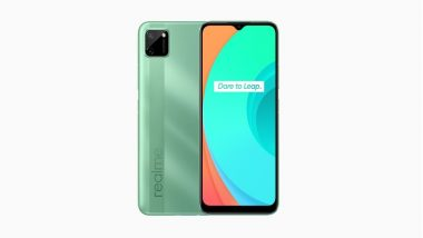 Realme C11 Smartphone's Next Online Sale Today at 12 PM IST; Prices, Features & Specifications