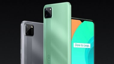 Realme C11 Smartphone With MediaTek Helio G35 SoC Launched in India at Rs 7,499