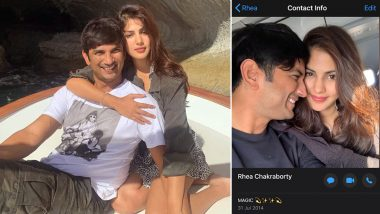 Rhea Chakraborty Remembers Rumoured Boyfriend Sushant Singh Rajput By Keeping Her WhatsApp Display Picture Along With The Late Actor