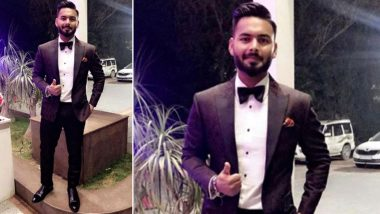 Rishabh Pant Recalls Giving a Try to 'James Bond Look,' Shares Throwback Picture on Instagram
