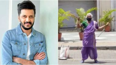 Riteish Deshmukh Helps Out 'Warrior Aaji Maa' From the Viral Video Who Was Seen Performing on Streets Amid the Pandemic