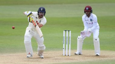 Live Cricket Streaming of England vs West Indies 3rd Test 2020 Day 1 on SonyLiv: Check Live Score Online, Watch Free Telecast of ENG vs WI Match on Sony SIX