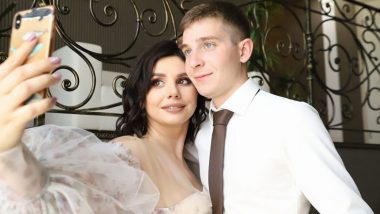 Russian Influencer Marina Balmasheva, 35, Marries 20-Yr-Old Stepson Despite Social Media Backlash, Couple Expecting First Baby (View Pics and Videos)