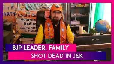 BJP Leader Wasim Bari, His Father, Brother Shot Dead By Terrorists In J&K, PM Modi Condemns The Act
