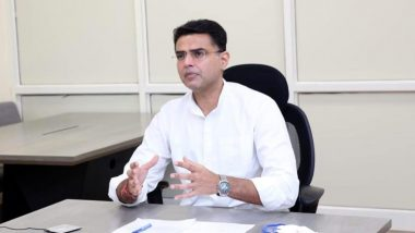 Sachin Pilot Congratulates Govind Singh Dotasara on Taking Charge As Rajasthan Congress Chief, Read Tweet