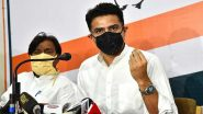 Sachin Pilot, Sacked as Rajasthan Deputy CM, To Address Press Conference at 10 AM Tomorrow