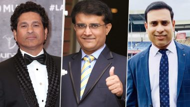 Happy Birthday Sourav Ganguly: Sachin Tendulkar, VVS Laxman Lead Cricket Fraternity in Wishing the BCCI President
