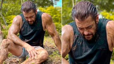 Salman Khan Goes Sweaty and Mud-Stained in His New Pic From Panvel Farmhouse, Expresses Love and Respect for All Farmers (View Tweet)
