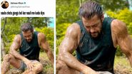 Salman Khan's Muddy Pic as a 'Farmer' Becomes the New Target of Funny Memes and Jokes (View Tweets)