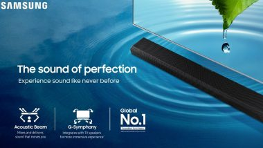 Samsung Launches Fresh Line-Up of 2020 Sound Devices in India
