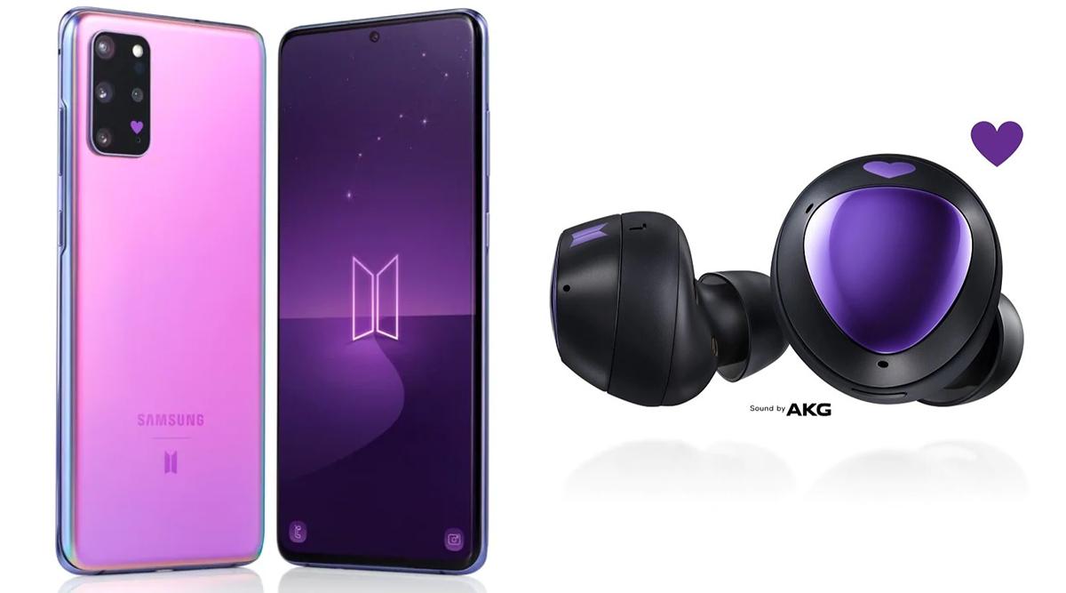 Samsung Galaxy S20 Galaxy Earbuds BTS Edition