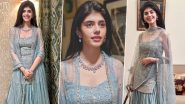 Sanjana Sanghi Is Beautiful in a Pastel Blue Monika and Nidhi Set Worth Rs.71,000 in These Throwback Pictures!