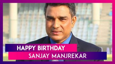 Happy Birthday Sanjay Manjrekar: His Memorable Performances Against Pakistan in 1989 Test Series